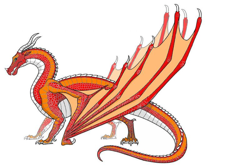 Wing Of Fire Coloring Pages Free Print Skywing