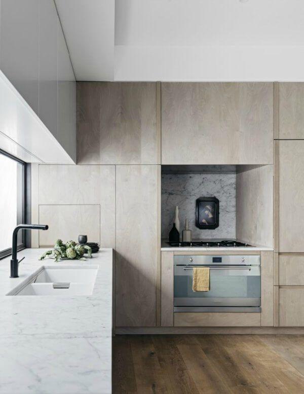 Blonde Grey Wood Modern Kitchen Scandinavian Style Decor Interior Design Interior Design Kitchen Modern Interior