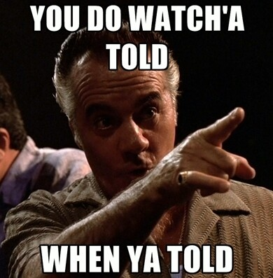 Gotta love Pauly from The Sopranos!!