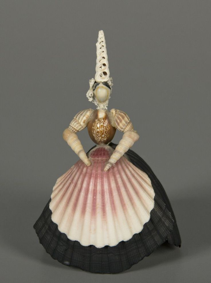 92.1418: Shell Doll | doll | More Dolls | Dolls | National Museum of Play Online Collections | The Strong