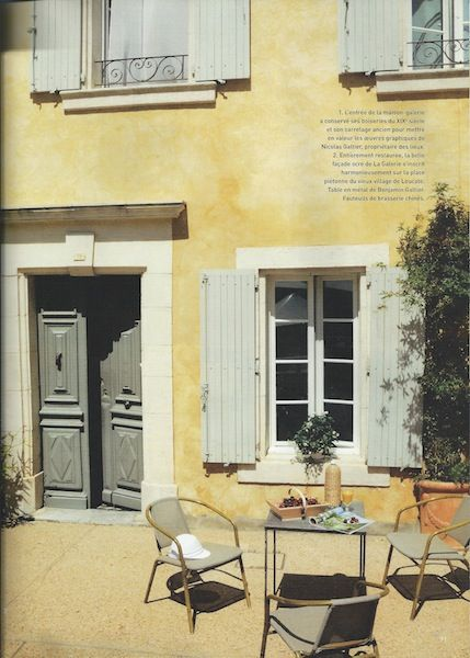 october 2011 art decoration photographer patrice binet french country colorsfrench colorsexterior color schemesexterior