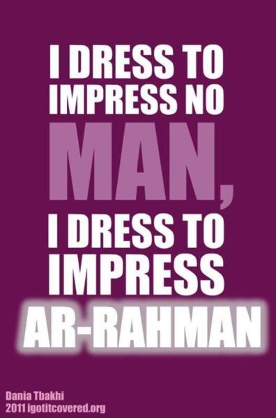 I dress to not impress. I dress to be dressed and to expose that which is  considered impressive as not truly.