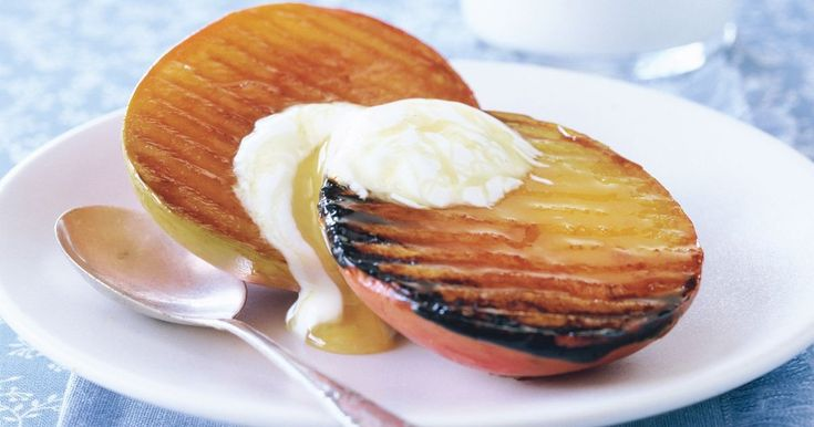 Serve these char-grilled mangoes for dessert or as a special breakfast treat.