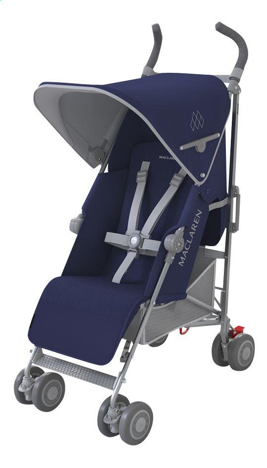 Ga wandelen met baby in alle veiligheid en comfort dankzij de buggy Quest van Maclaren.