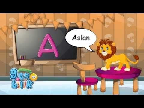 Türkçe Alfabe'deki sesli harfleri hayvanlarla öğreniyoruz. Birinci ders.