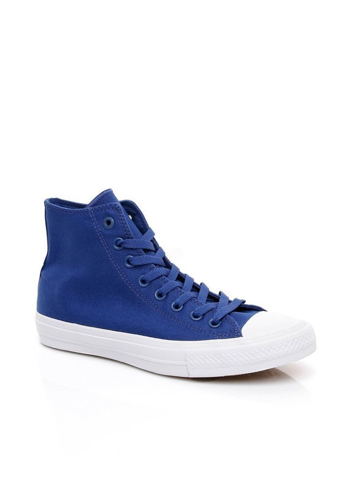 Converse Chuck Taylor All Star II 2 Lunarlon Blue White Men Shoe Sneaker 150146C
