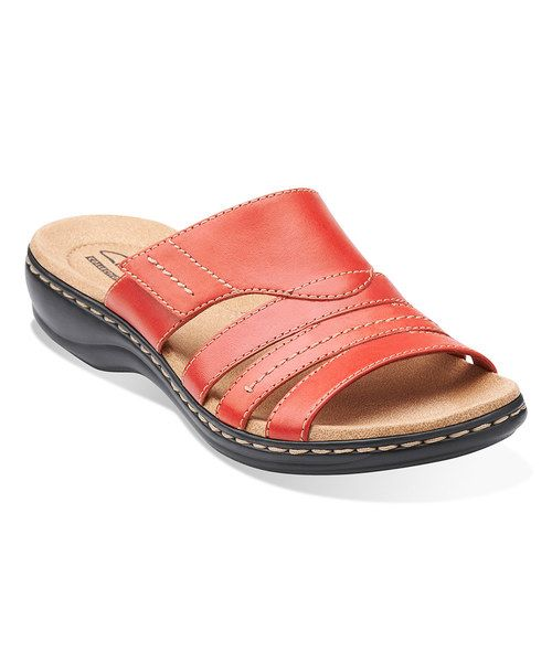 Clarks Leisa Grove Leather Sandal by Clarks #zulily #zulilyfinds