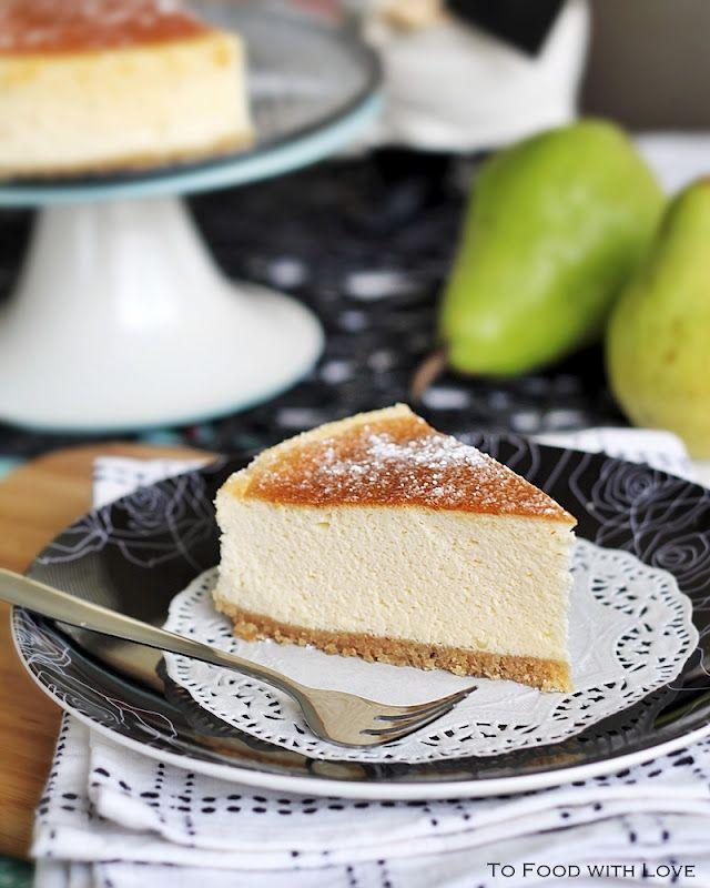 Light and creamy Japanese cheesecake