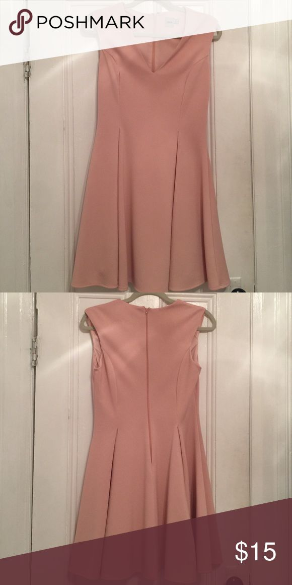 ASOS Cocktail Dress US size 8, fit and flare fit, blush pink...only worn once ASOS Dresses