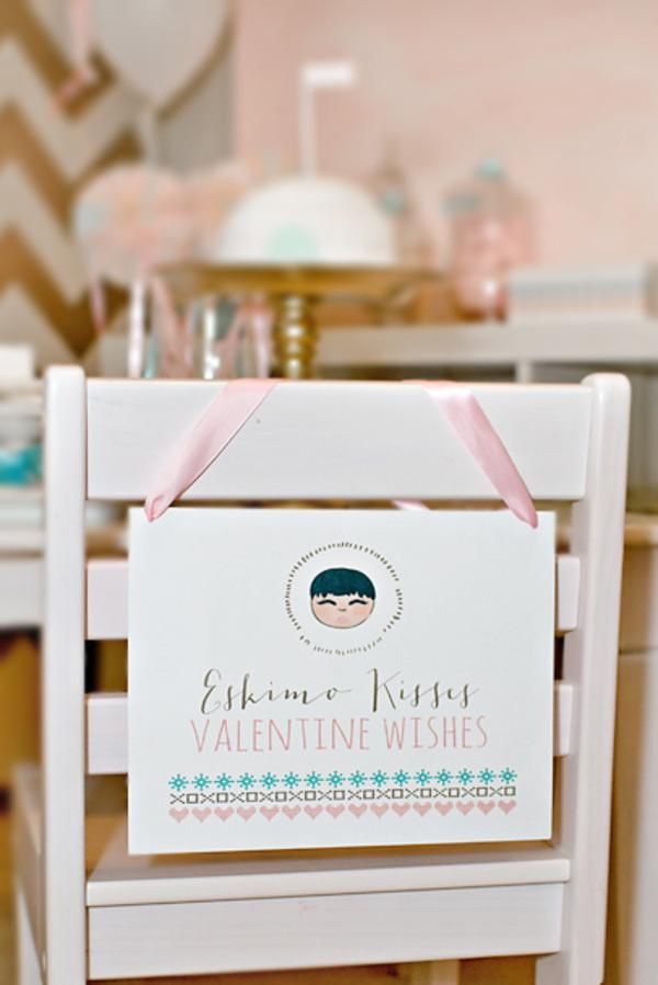 Eskimo Kisses and Valentine Wishes Playdate Party