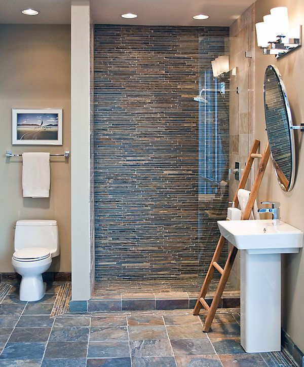 1000+ Ideas About Slate Tile Bathrooms On Pinterest