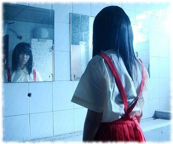 Ghost stories say that summoning Hanako-San can lead to a hand reaching through the bathroom door and killing you.