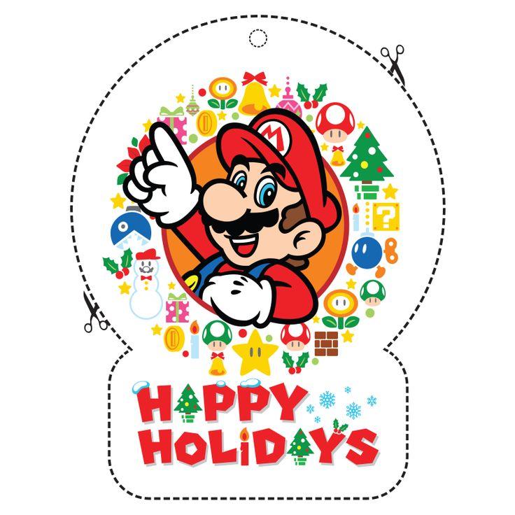 7 best Nintendo Holiday Decorations images on Pinterest   Super ...