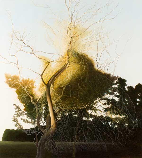 Image of David Keeling's painting, 'High Tide II'.