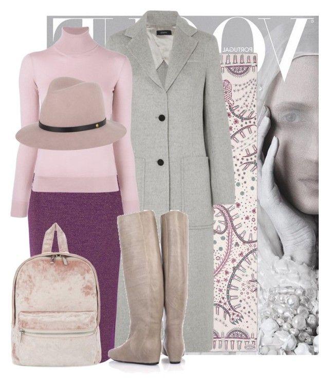 """Purple, Pinky Winter"" by carolinarcieri ❤ liked on Polyvore featuring Valentino, Joseph, True Decadence, Ralph Lauren Purple Label, Lanvin, Skinnydip and rag & bone"