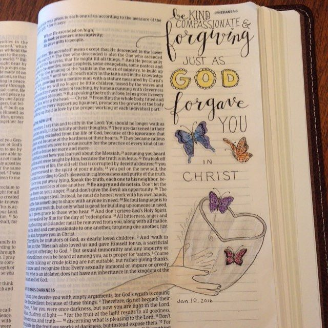 Jan. 10. Ephesians 4:32. We can release and forgive just as God did for us!! #documentedlifeproject #documentedfaith…