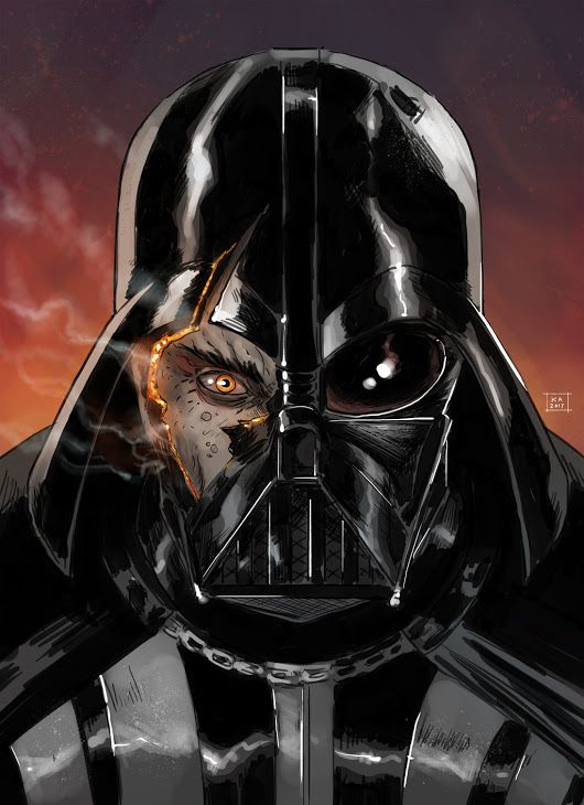 """There's still good in him..."" Anakin Skywalker Darth Vader Star Wars"