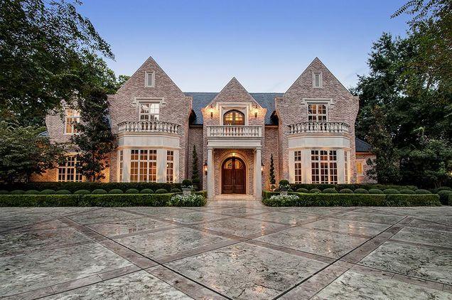 ** Elegant Estate built by Dan Parker & designed by Robert Dame on a 42,240 sqft lot.