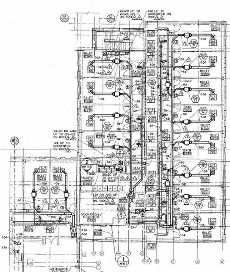 14 best Mep images on Pinterest Hvac design, Model and Plumbing - best of construction blueprint reading certificate