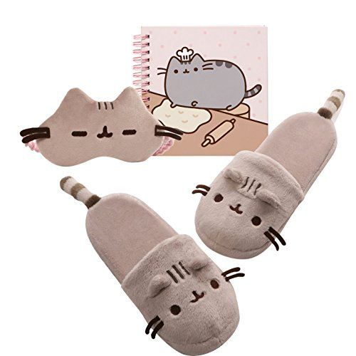 Sweet Dreams Pusheen Gift Set - Slippers - Sleep Mask - N... https://www.amazon.com/dp/B01LDECOMI/ref=cm_sw_r_pi_dp_x_nmsSybYR0V325