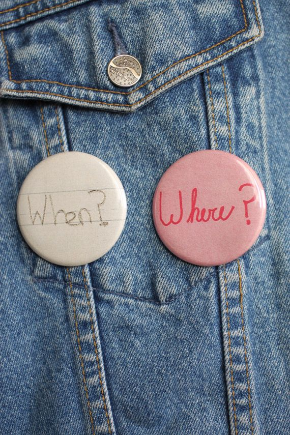 Moonrise Kingdom Sam & Suzy Letter Pinback Button by LosCrossBones, $7.00