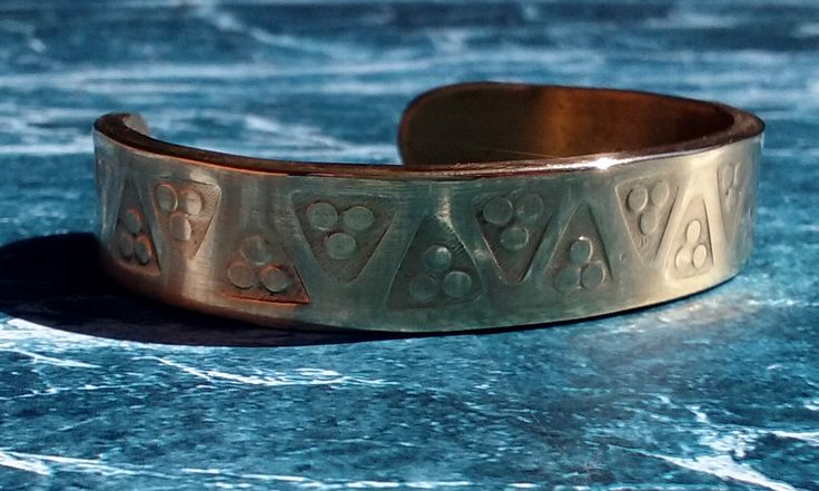 Brass Viking bracelet hand crafted by Adam Reed adam.reed.s.a@gmail.com