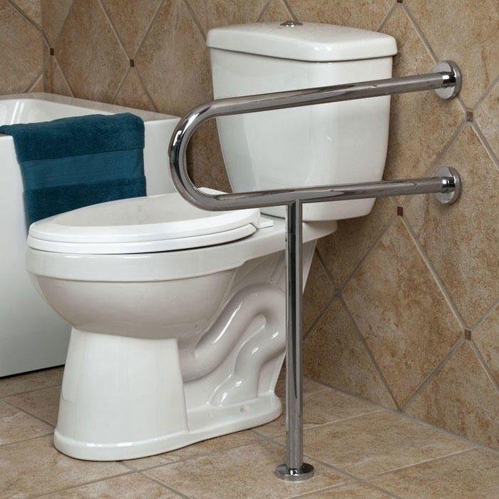 Handicap Bathroom Design, Grab Bars For Bathroom Toilet