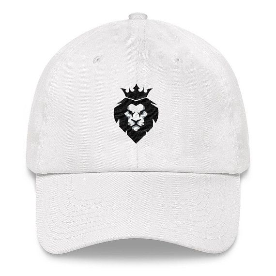 Lion Dad Hat. Dad hats arent just for dads. This ones got a low profile  with an adjustable strap and curved visor. • 100% chino cotton twill •  Unstructured b843daef694b