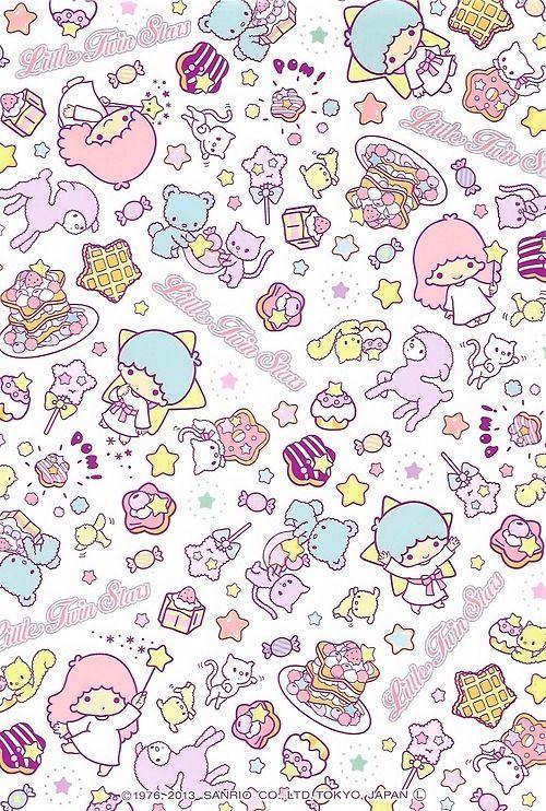 Sanrio Little Twin Stars Wallpaper