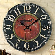Traditional Country Retro Floral/Botanicals Characters Music Wall ClockRound 30*30 Indoor/Outdoor Clock – CAD $ 51.24