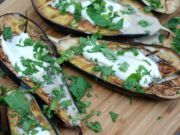 Melanzane grigliate con yogurt