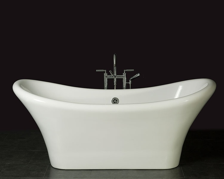 17 best images about bathroom contemporary on pinterest for Best bathtub material