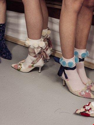 Ryan Lo AW16/ cute pom pom socks