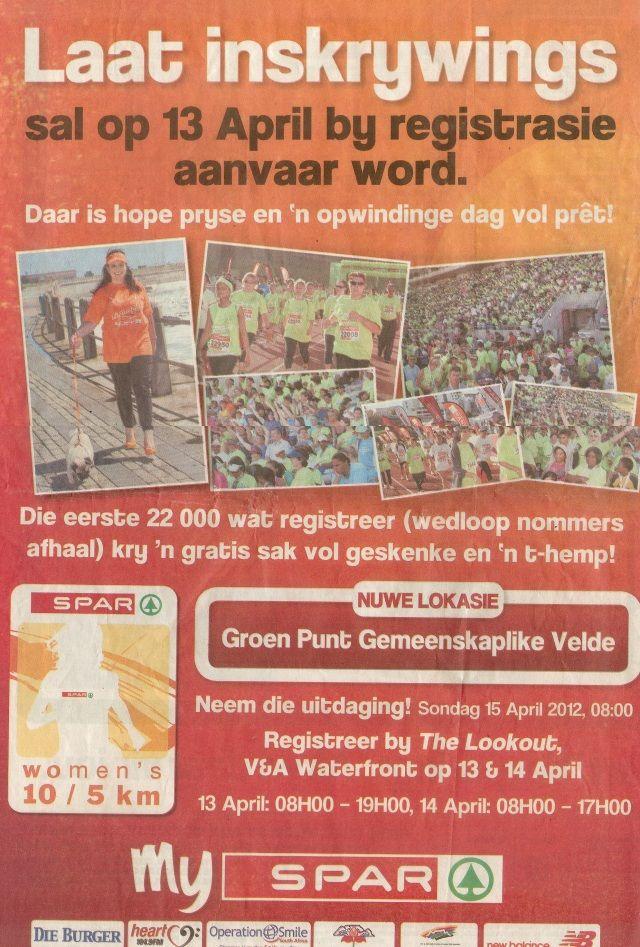 Vertaling van die jaar: SPAR advertensie, Die Burger, April 2012
