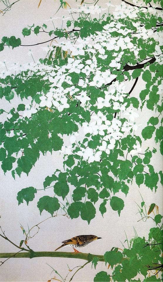 白い花(L) Isson Tanaka