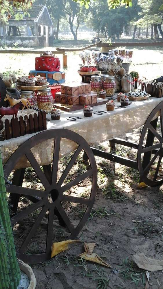 Wild West Cowboys Birthday Party Ideas | Photo 6 of 28 | Catch My Party