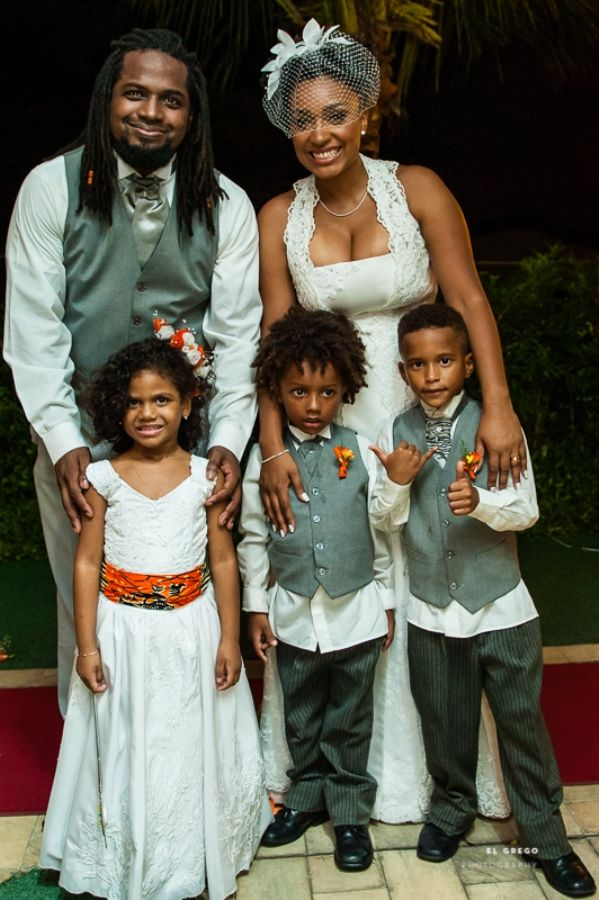 A Vibrant Afro-Brazilian Wedding in Rio de Janeiro - Munaluchi Bridal Magazine