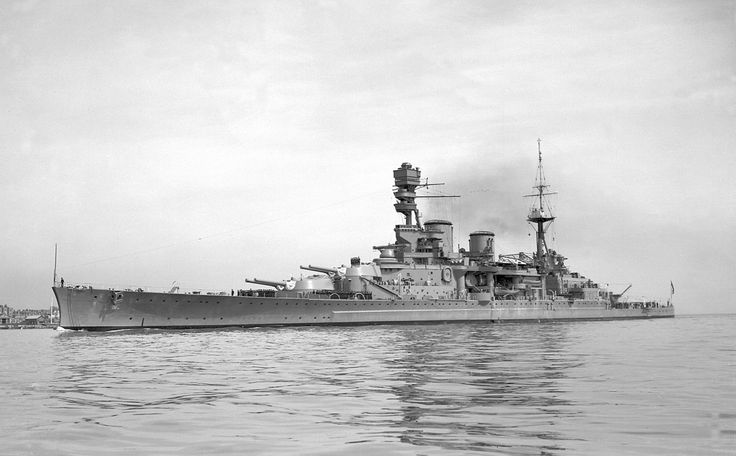 "apostlesofmercy: ""The Renown-class battlecruiser HMS Repulse in 1939. """