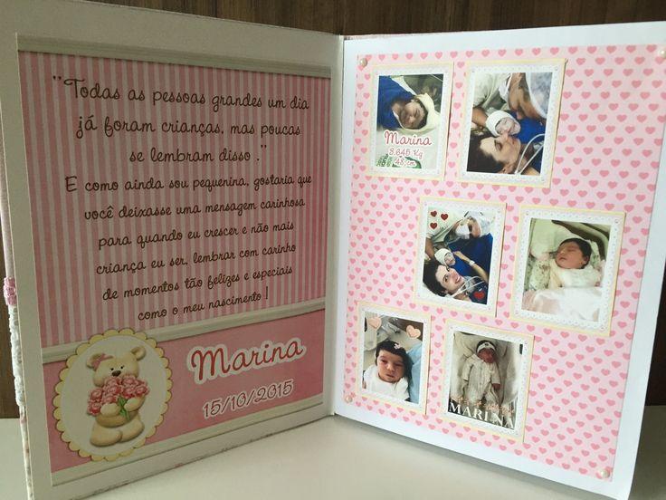 Livro de Mensagem para Nascimento e Aniversário  pode ser feito em todos os tema e cores  paginas com dados do bebe e seu nascimento  forrado com tecido e apliques em alto relevo  acompanha caixa de madeira forrada com tecido