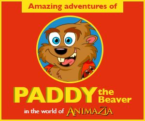 PaddytheBeaver.com Stories, Fun and Educational Videos for kids. Teach children about Environment. Part of the world of Animazia.com