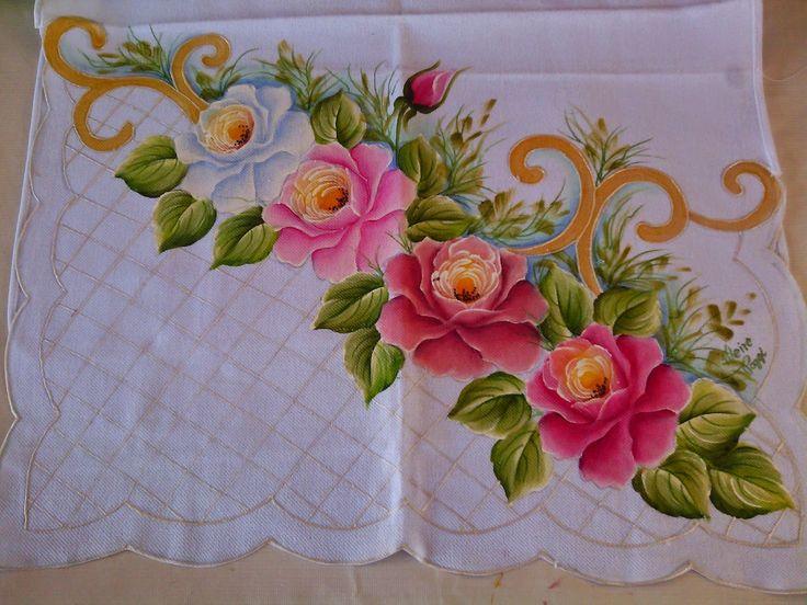 Minhas pinturas em tecido: Novembro 2014