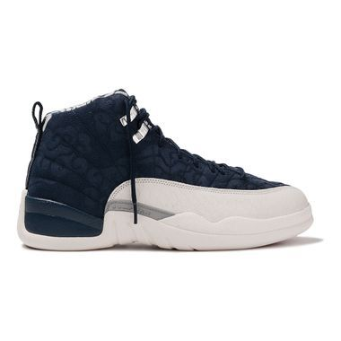 3becd335ce1e1 Tenis-Air-Jordan-12-Retro-PRM-Masculino-Azul