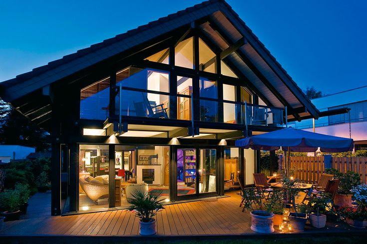 25 best ideas about case in legno su pinterest spazi for Case prefabbricate lusso