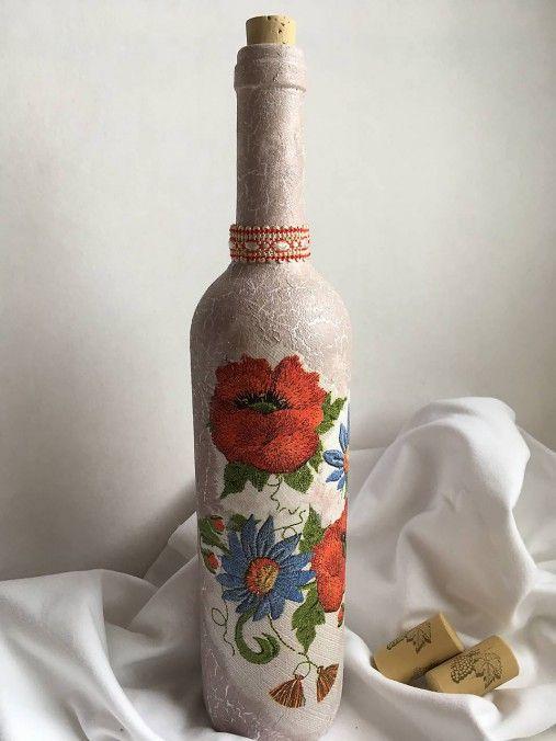 Clairet / Ľudový motív fľaša