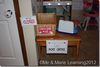 sending a letter pretend play post office with printables pretend play 36019