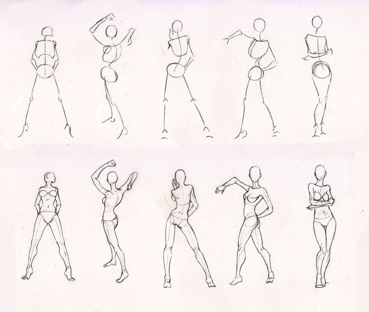 Sketches 28 woman standing practice by azizla on deviantart figure drawingdrawing
