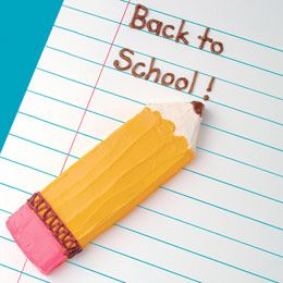 Back to School Pencil Cake