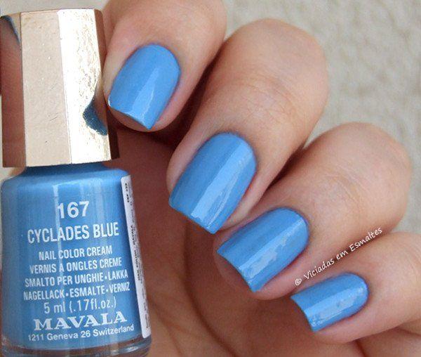 Esmalte Mavala Cyclades Blue