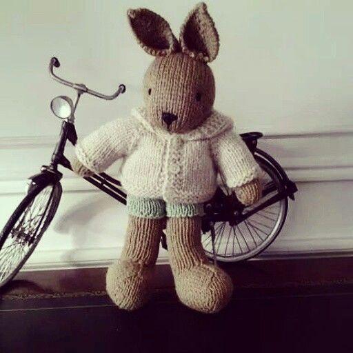 Bunny and bike