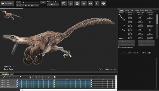Learn how to animate a 2D dinosaur from an image with skeletal mesh animation for use in Unity and UE4 Game Engines. For gamedevs, indies and animators.